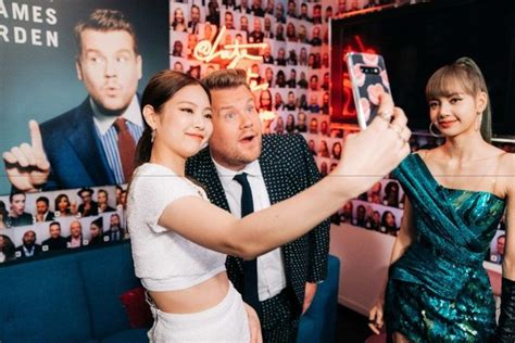 Watch BLACKPINK Members Play Flinch Game with James Corden ...