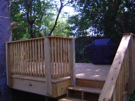 image gallery viking fence  deck