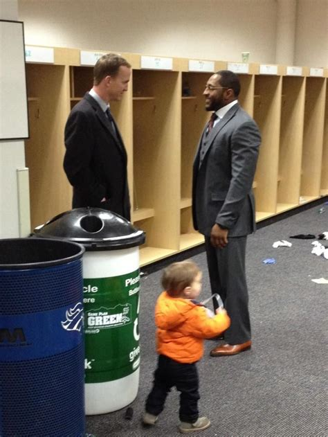 peyton manning waited  congratulate ray lewis