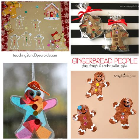 the ultimate gingerbread theme for preschool and 456 | Gingerbread Theme Art and Craft Ideas for Preschool and Kindergarten