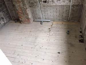 Badkamer Houten Vloer Vervangen Voor Beton In Badkamer Of Complee