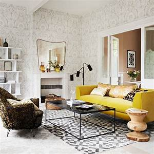 yellow and grey living room With gray and yellow living rooms