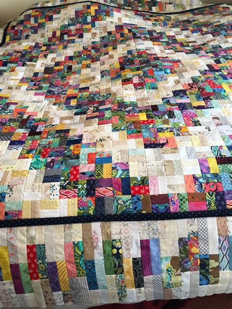 sew  strips scrap quilt patterns scrappy quilts