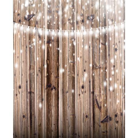 lights  rustic wood planks backdrop express