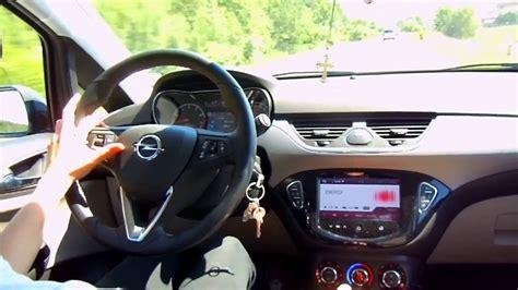2016 Test Opel Corsa E 1.4 Turbo 100PS ecoFLEX - YouTube