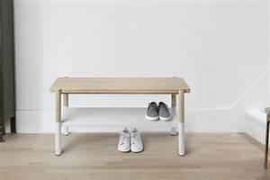 Banc Rangement Chaussures Entrée : banc range chaussures promenade ~ Teatrodelosmanantiales.com Idées de Décoration