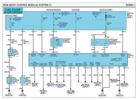 Fuel System Wiring Diagram 2003 Hyundai Santum Fe by Repair Guides G 2 7 Dohc 2007 Bcm System