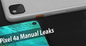 Pixel 4a Manual Leaks  U0026gt  Pixel 4 Manual User Guide Pdf