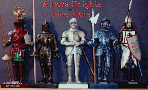 mike whites aurora knights culttvmans fantastic modeling