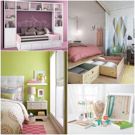 clever storage hacks   tiny bedroom home decor