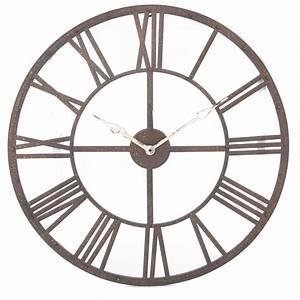 Horloge Pas Cher : grande horloge murale ~ Teatrodelosmanantiales.com Idées de Décoration