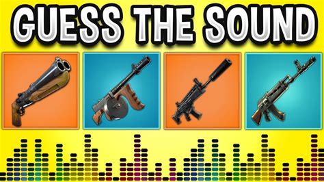 guess  gun sound  fortnite battle royale fortnite