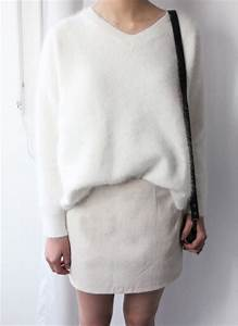 Sweater: white wool sweater, wool sweater, white sweater ...