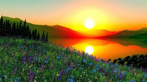beautiful sunrise   world  sunrise
