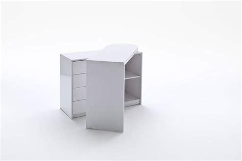 Mika Schrank Mit Drehbarem Schreibtisch Weiß