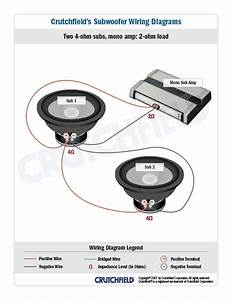 Dual 1 Ohm Wiring Diagram