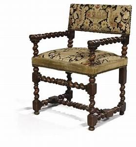 Chaise Louis Xiii : chaise a bras d 39 epoque louis xiii travail d 39 ile de ~ Melissatoandfro.com Idées de Décoration
