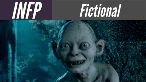 infp fictional characters infp personality type youtube