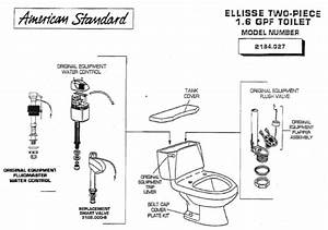 American Standard 2184 027 Ellisse Two