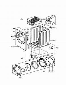 Lg Dle0332w Dryer Parts
