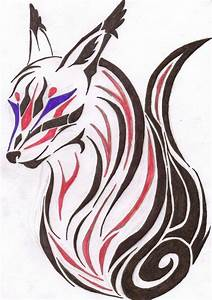 Tribal Fox Tattoo by AgentNinetalesX on DeviantArt