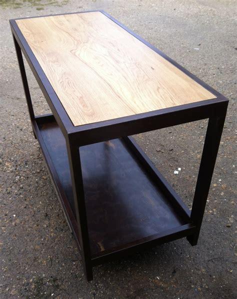 table comptoir cuisine table comptoir de cuisine établi métal et bois