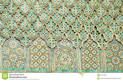 arabic mosaic ornament decoration stock photo image