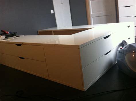 chambre ado lit 2 places un incroyable lit estrade pour chambre d 39 ado bidouilles ikea
