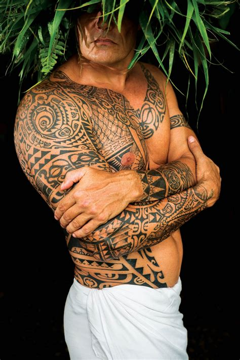 The Revival And Reinvention Of The Polynesian Tattoo