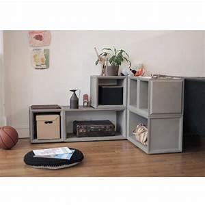 Cube De Rangement : module de rangement en b ton plus s by ~ Farleysfitness.com Idées de Décoration