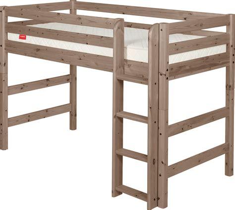 Flexa High Bed Classic by Flexa Classic Semi High Bed Rainbow Wood