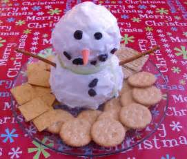 easy holiday appetizer recipes snowmen pinterest