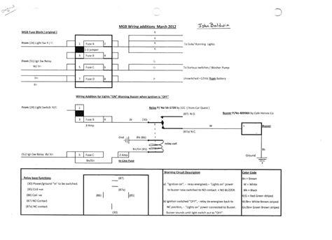 towbar buzzer wiring diagram wiring diagram