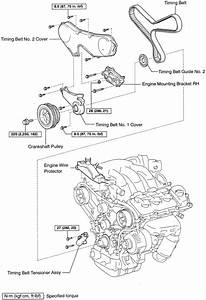 repair guides water pump removal installation With lexus timing cover