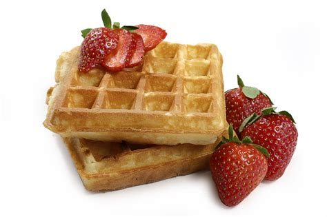 waffles with strawberrys waffles photo 8008200 fanpop