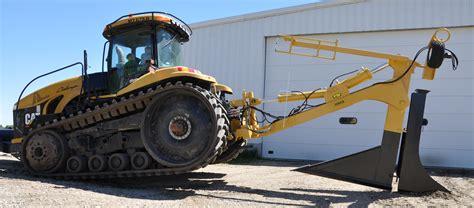 6 frame mounted plow johnson drainage plows