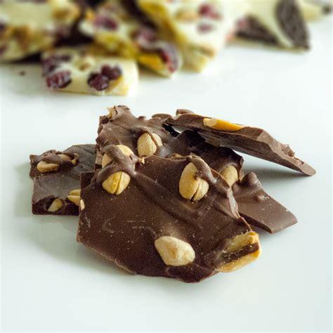 milk chocolate peanut bark chocolations