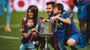 Thiago And Mateo Messi Love Their Dad Lionel Messi