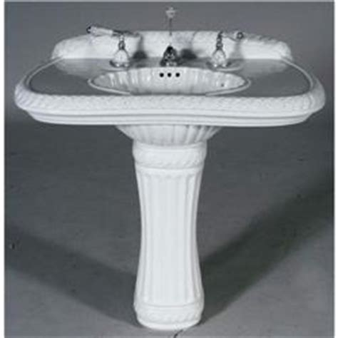 1 sherle wagner pedestal sink with hardware s
