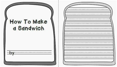 Sandwich Template For Writing Essay How To Make A Sandwich Buy It Now