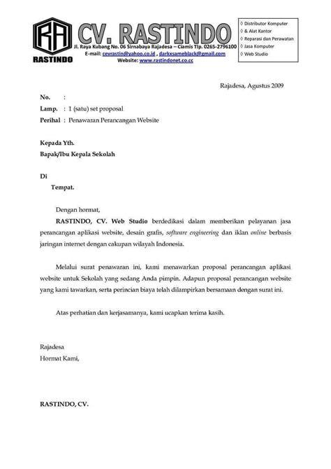 Contoh Surat Permohonan Kerjasama Sponsorship by 10 Contoh Surat Penawaran Kerjasama Contoh Surat
