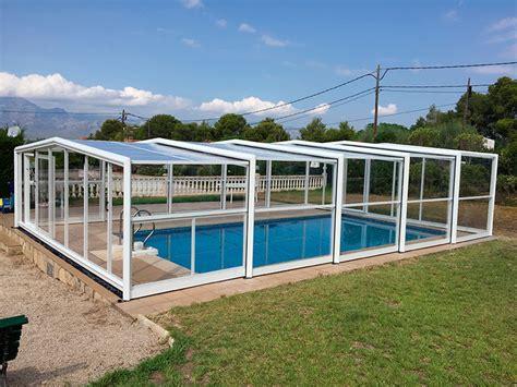 cuanto cuesta cubrir una piscina  piscina cubierta