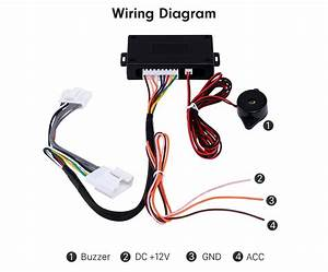 Car Rearview Mirror Automatic Folding Drive Controller