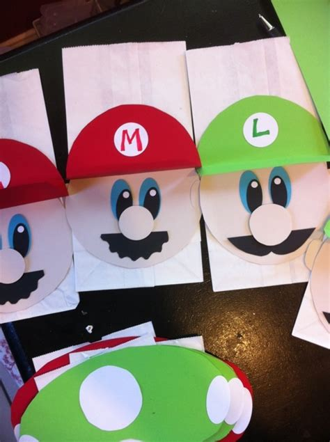 Super Mario Brothers Paper Crafts