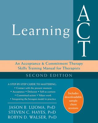 learning act  acceptance  commitment therapy skills
