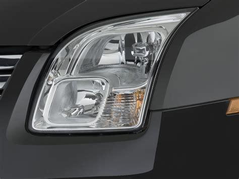 image 2008 ford fusion 4 door sedan v6 sel fwd headlight