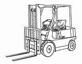 Semi Coloring Truck Pages Trucks Drawings Drawing Clipart Fork Lift Colouring Printable Boys Construction Storage Pallet Clip Books Reach Log sketch template