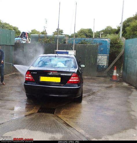 Wash Cars Under Water Pressure ?