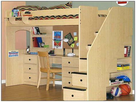 Childrens Bed With Desk Underneath Ideas   GreenVirals Style