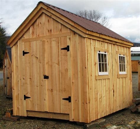 tool shed plans gable shed plans choose your size yard outdoor tool